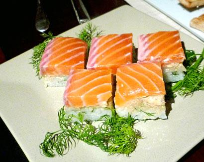 ディルサーモン寿司