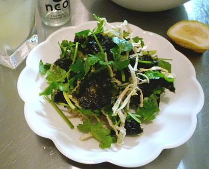 海苔サラダ