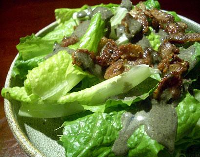 ロメインレタス胡麻サラダ