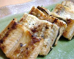 天然鰻白焼き