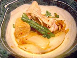 キムチ鍋小皿