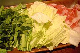 キムチ鍋野菜