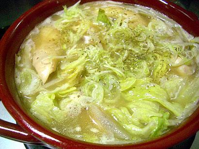 レタス水炊き