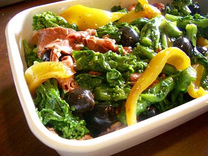 菜の花のサラダ