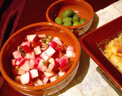 赤蕪サラダ