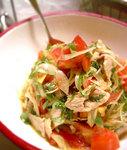 トマト豚しゃぶサラダ