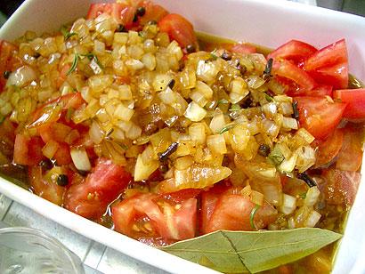トマトオイルマリネ