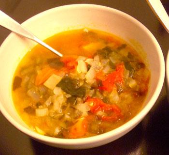 トマトしじみスープ