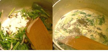 豆乳グラタン炒め