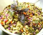 紫バジルサラダ