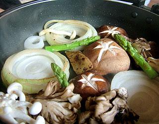 焼きしゃぶ野菜