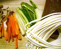 カレーうどん野菜