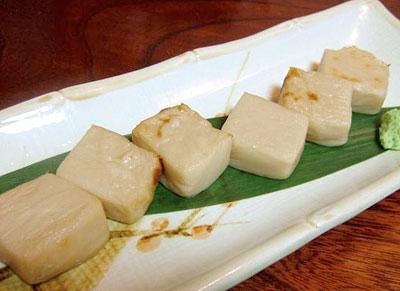ちくら胡麻豆腐