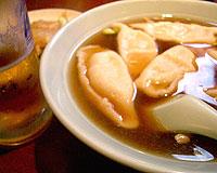 ハルピンスープ餃子