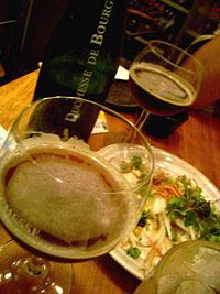 海晴亭ベルギービール