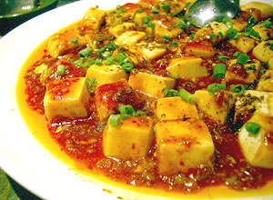 金燦燦マーボー豆腐