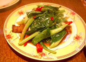 サームロット野菜豚肉炒め