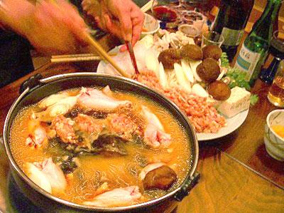 鳥多古たたき鍋
